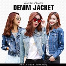 [NEW ARRIVALS !] 2016 Korean Fashion Denim Jackets