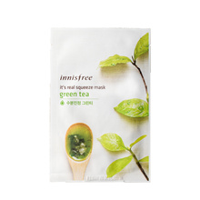 INNISFREE Its Real Squeeze Mask - Green Tea 20ml (IN035)