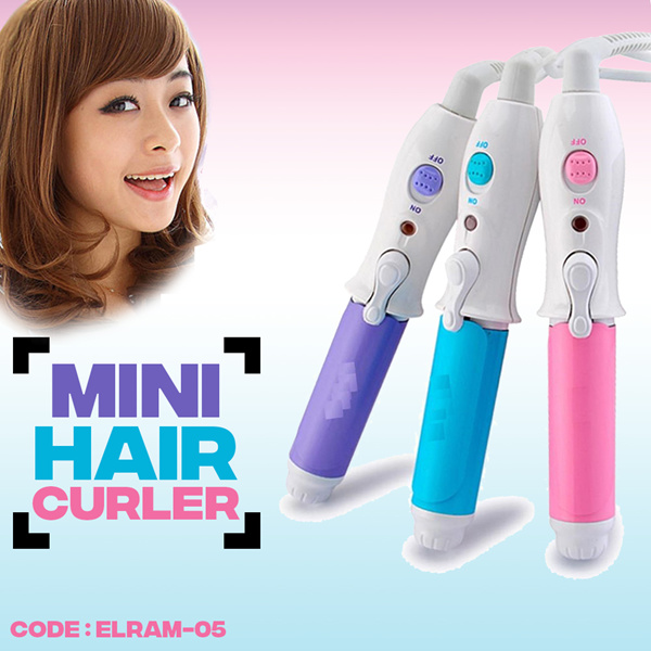 TRAVEL HAIR CURLER Deals for only Rp36.000 instead of Rp36.000