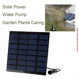 tv Nice Solar Power Fountain Water Pump Panel Kit Pool Garden Pond Submersible Watering (Size: 10cm by 10cm, Color: Black)#ZGB
