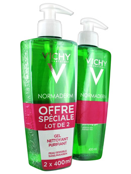 Vichy Normaderm Deep Cleansing Purifying Gel 2 x 400ml