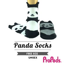 [Propeds] (4688) Panda Socks. Unisex. Comes in 2 colors combo. 1 pair pack