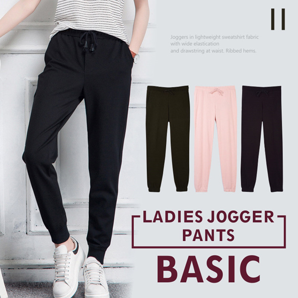 New Collection Branded Women Jogger Pants 2 Style Deals for only Rp50.000 instead of Rp50.000