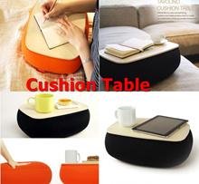 New Concept Tavolino Cushion Table/ABS Plastic Fabric Cushion Table Desk