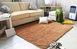 Carpet ukuran 100 x 150/ Karpet High quality Microfiber chenille fabric  (Doff / Metalik / kilat)