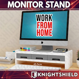 ★MONITOR STAND ★ TABLE ORGANISER ★ OFFICE ORGANIZER ★ LAPTOP STAND ★ KEYBOARD STORAGE ACCESSORIES