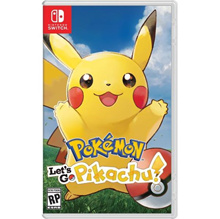 Nintendo Switch Pokemon : Let s Go Pikachu