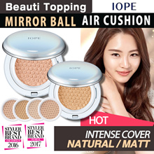 ★Qoo10 Lowest Price★IOPE★NEW AIR CUSHION (Intense cover / Natural / Matt)[Beauti Topping]