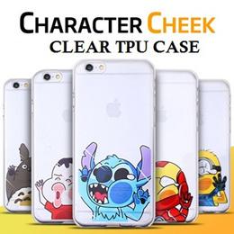 Character Cheek Clear TPU Cartoon Case ★Fast Delivery ★Apple iPhone 6 /6 Plus / Xiaomi Redmi 2/ Redmi Note /Samsung S6