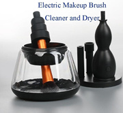 Electric Makeup Brush Cleaner and Dryer Machine Automatic Completely Clean in Seconds and Dry in 360