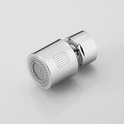 Millet white double function tap water nozzle bubbler 360 ° universal water small volume double water splash splash
