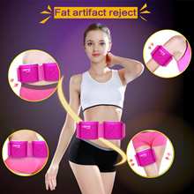 ♥High praise♥Hot sale vibro shaper slimming vibration vibrating massager belt anti cellulite fat burner machine