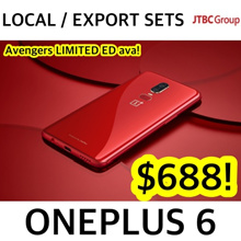 OnePlus 6 64 / 128 / 256GB | MARVEL AVENGERS LIMITED ED AVA IN 256GB w 8GB RAM! LOCAL SET AVA TOO!
