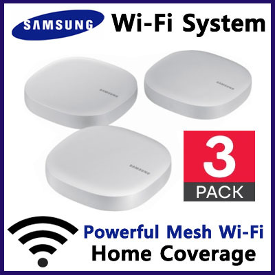 SAMSUNG▶Lowest Price◀ 3-Pack Samsung Connect Home / SmartThings Wifi Router  Smart WiFi System