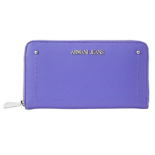 Armani jeans ARMANI JEANS / Long wallet wallet # 928032 7P756 00090 Lavender New Year\'\'s first selli..