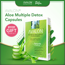 12 YEARS BESTSELLING DETOX - AVALON Aloe Multiple Detox - Dispel toxins