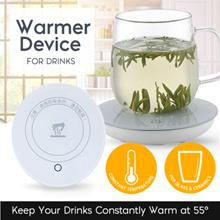 *Bestseller* New 55 Degree Warmer Device Cup Coffee Tea Hot drinks at 55 Degree