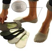 cf1dfe2579fe store men sock slippers summer bamboo fibre non-slip invisible boat socks  male fashion low socks 10p