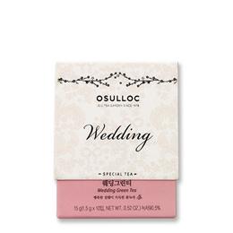 [OSULLOC]★Special Tea – Wedding Green Tea (1.5g x 10 pcs)★  Korea High Quality Osulloc /  grean tea / tea time / Food [HowRU OSU_TEA_027] / Chirstmas