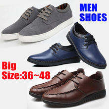 Men shoes big size plus size Mens Casual Shoes★Mens Dress Shoes★Natural Leather★Formal/Business/ leather shoes real leather singapore boots winter boots sandals sneakers fashion heel golf slippers