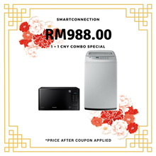 [RM988.00 After Coupon Applied] Samsung MW3500K 23L Solo Microwave Oven + 7kg Washing Machine *ORIGINAL PACKAGING/SEALED* MY Warranty/Malaysia