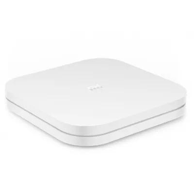 小米(MI)小米盒子4 4k HDR人工智慧機上盒智慧網路電視機上盒4K電視H.265硬解PatchWall人工智慧語音系統安卓網絡盒子高清網絡播放機HDR白色(大陸官方中文簡體版)