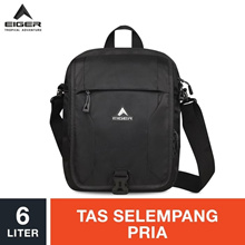 Eiger Posseidon Shoulder Bag 6L - Black EIG0818-910000455001