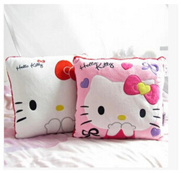 hello kitty cute Hello Kitty pillow creative office nap pillow cushions couple girls gifts_Simple wo
