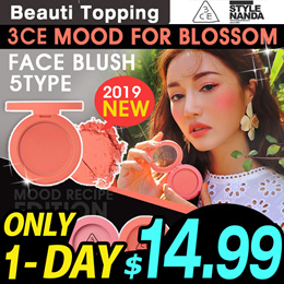 2019 NEW [3CE] FACE BLUSH 5 Colors / BLUSH CUSHION 6 Colours [Beauti Topping]