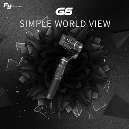 FeiyuTech G6 Gimbal Elevation Angle for Gopro Hero 6/5/4 and Other Similar Action Camera