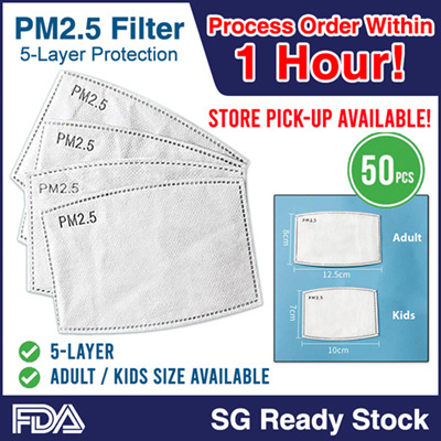 PM2.5 Adult / Kids Mask Filter Insert