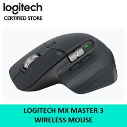 Logitech MX Master 3 Wireless Mouse Hyper Fast Scroll Wheel 1 year Warranty 910-005698