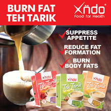 [1 Month Supply] Burn Fat Teh Tarik