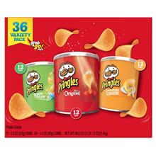 Pringles Grab  Go Potato Chips Variety Pack 36-count