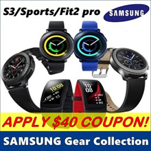 [MAKE $190] SAMSUNG Gear Collection ★ Gear Fit 2 Pro / Gear Sport / Gear S3 ★ Smart Watch / GPS