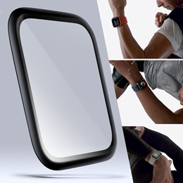 Buy 1 Get Free 1 3D Full Cover Tempered Glass for New Apple Watch Series 4 40mm 44mm