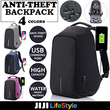 ★Anti Theft Backpack★ with USB Charging Port / Waterproof School Bag / Light Weight / Luminous