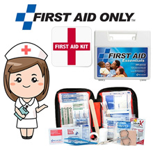 *Made in USA* Complete First Aid Kit Box 107 - 299 Pieces - Medical Bandages / Plaster / Dressings