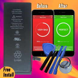 Apple iPhone 5 6 6S 6 Plus 6S + 7 7+ SE Original Quality Battery. Free Installation
