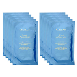 10 PCS Guerlain Super Aqua Intensive Masks Skincare Mask Hydrating #11308