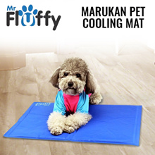 Japan Imported Marukan Pet Cooling Mat / Foldable  easy storage / Absorbs body heat / Waterproof