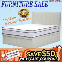 Storage Bed + Mattress Package from $279 | Free Delivery n Installation | [LIVINGMALL-19005]