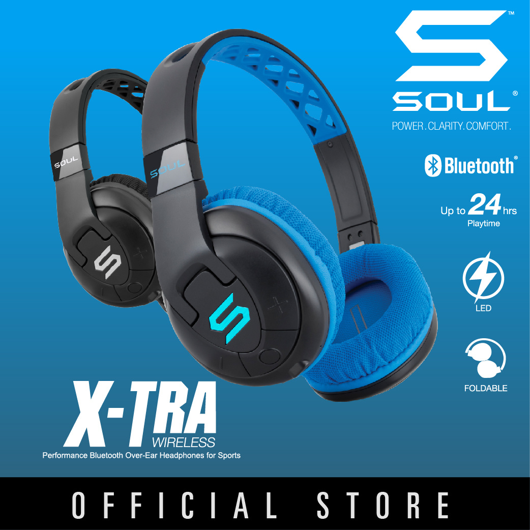 Qoo10 Soul X Tra Wireless Mobile Devices Run Free Pro Bluetooth Earphone Headset Storm Black Show All Item Images