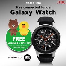 SAMSUNG Galaxy Watch 46mm CLEARANCE 1 YEAR LOCAL SAMSUNG WARRANTY READY STOCKS