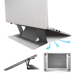 Laptop Stand - Invisible Portable Foldable Ventilated Adjustable Stand for Notebook up to 15.6 inch