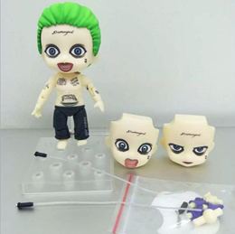 wholesale 2017 New Suicide Squad The Joker Female Harley Quinn 672 Suicide Edition Nendoroid Doll PV