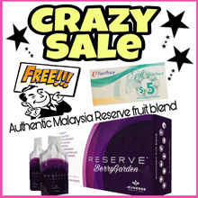 ❀Free NTUC Voucher ❀09/2019 EXPIRY❀AUTHENTIC MALAYSIA JEUNESSE RESERVE ANTIOXIDANT FRUIT BLEND