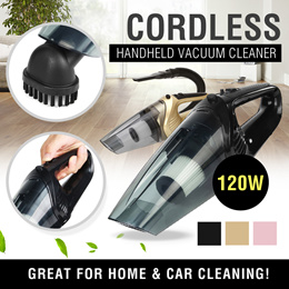 ★SG LOCAL★CORDLESS Handheld Car/Home Vacuum Cleaner 120W 4000PA Suction Wet/Dry with LED