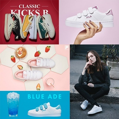 ?New Arrivals?100% Authentic FILA Original 20Type Womens Coat DELUXE Canvas Velcro Sneakers Deals for only S$289.9 instead of S$0