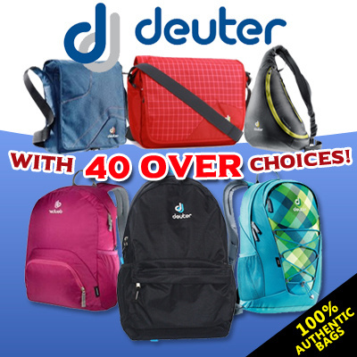 100 Authentic Deuter Bags Backpack Bagpack Daypack Pouch